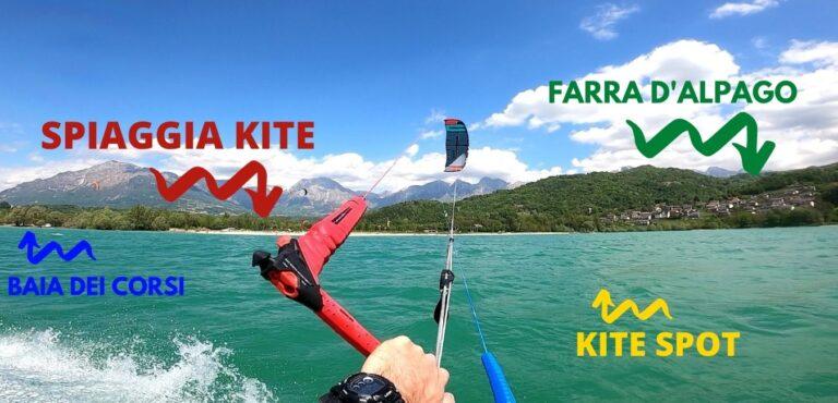 Descrizione Spot Lago Di Santa Croce - Scuola Kite VKC